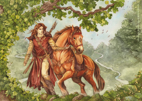 lara-face:  Ossiriand by =Gold-Seven  Maedhros! **cries**