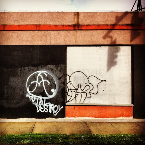 #totaldestroy #elephant #wall #sprays #tags #graffiti #streetart #wall #nepdx #pdx #alberta  (Taken with instagram)