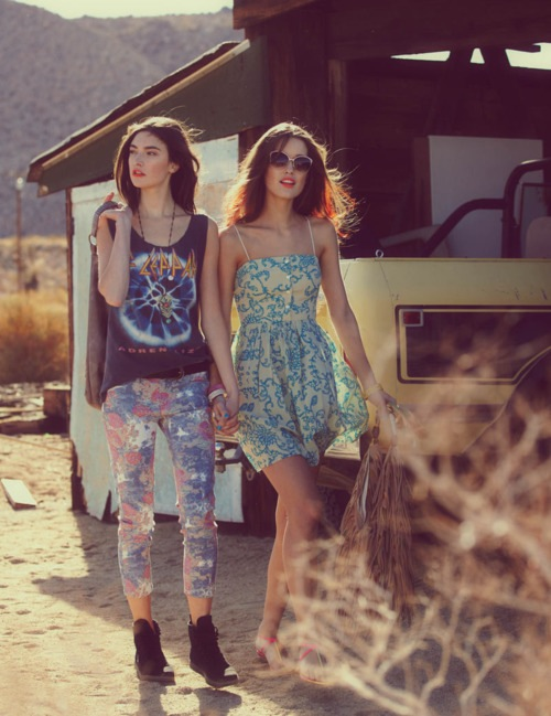 Tenderest shot…Free People Lookbook