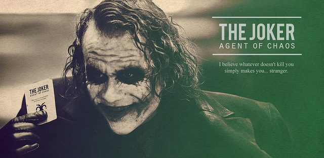 proyect joker card on Flickr.