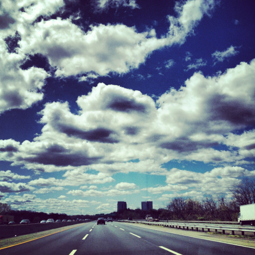 new jersey turnpike. april 2012.