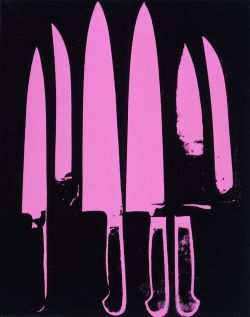 "LOVE THIS!!!! ""Knives Pink"" 1982 By: Andy Warhol"