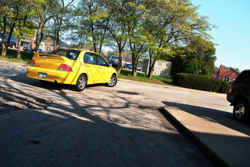 Yellow Car | 093 by Jose Taco Cruz on Flickr.