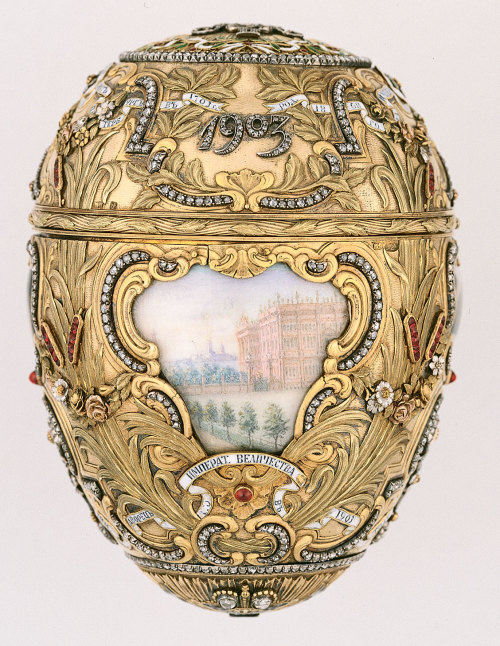 omgthatartifact:  Imperial Peter the Great Easter Egg Fabergé, 1903 The Virginia Museum of Fine Arts