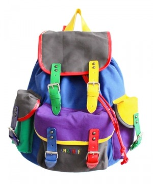 Lazy Oaf Colour Block Rucksack