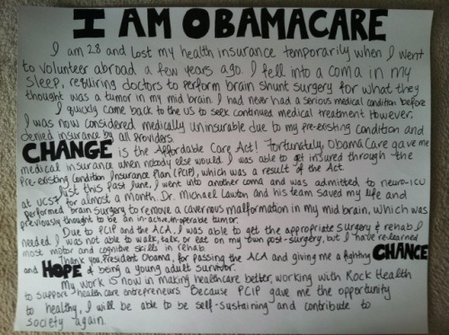 I Am ObamaCare