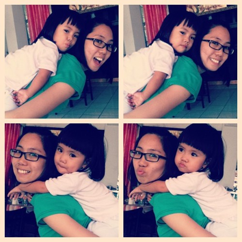 Piggy back ride. #love #cute #kid #girl #bangs #random #backride  (Taken with Instagram at Costes Residence)