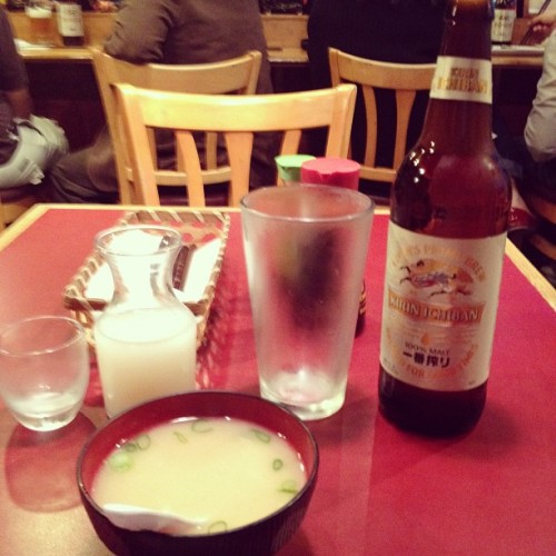 Solo dinner… Whoops. #allforme (Taken with Instagram at Sushi Diner)