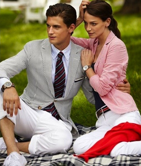 mensfashionworld:  Gant Spring/Summer 2012 Campaign  A perfect couple