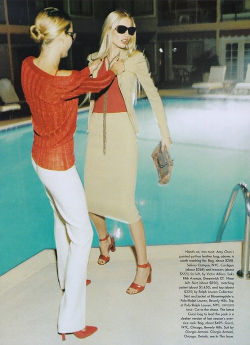"90smodels:  Vogue US, February 1997 ""Lust for Luxury"""