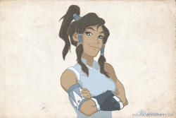 Korra is badass by ~astutia