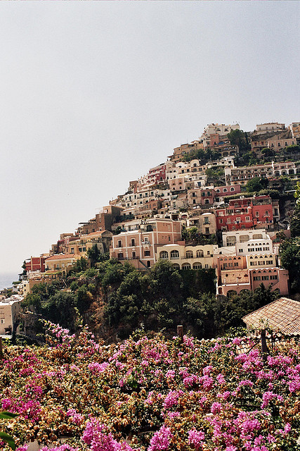 | ♕ |  Hill of Dolce Vita - Positano, Amalfi  | by © Max Lordag