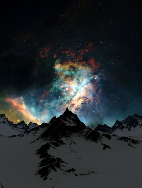 kimberlykristenb:  Alaska night sky