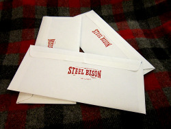 Shipping out Steel Bison patches and stickers