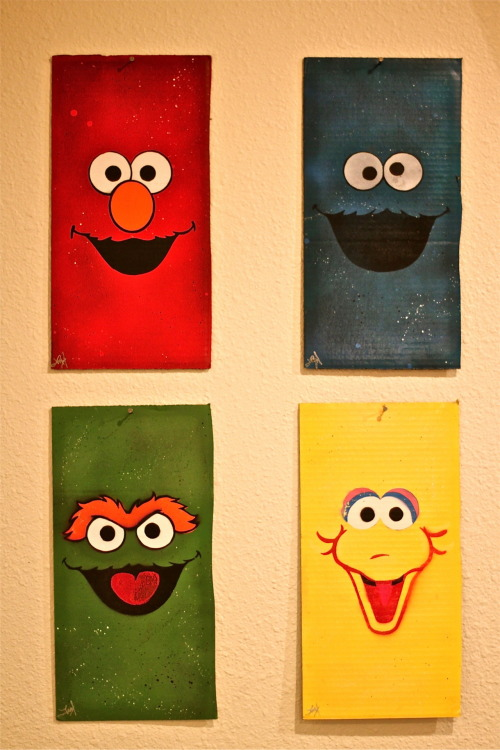 sesamestreet:  We could stare at these faces all day. And sometimes we actually do. It's part of the job.  idk what this is but i want one