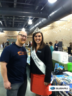 Our friend from @organicmechanix and Pennsylvania Princess at the # pf3