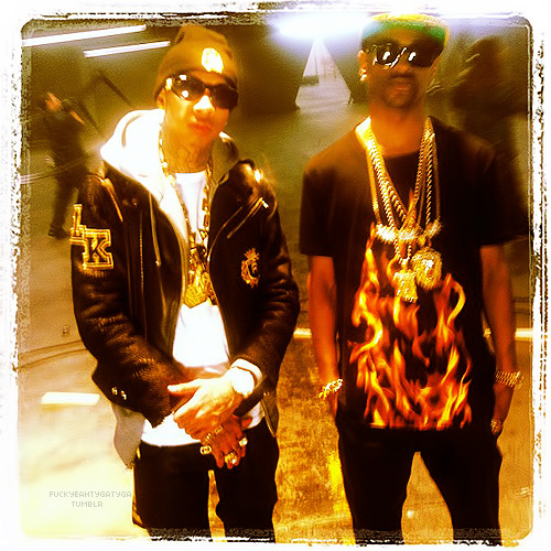 "fuckyeahtygatyga:  ""I'm gone video shoot #kingin"" -@tyga"