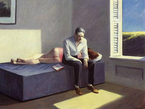 anneyhall:  Excursion into Philosophy, Edward Hopper (via:nevver)