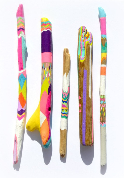 livrz:  these are way cooler than the sticks i decorated…damn