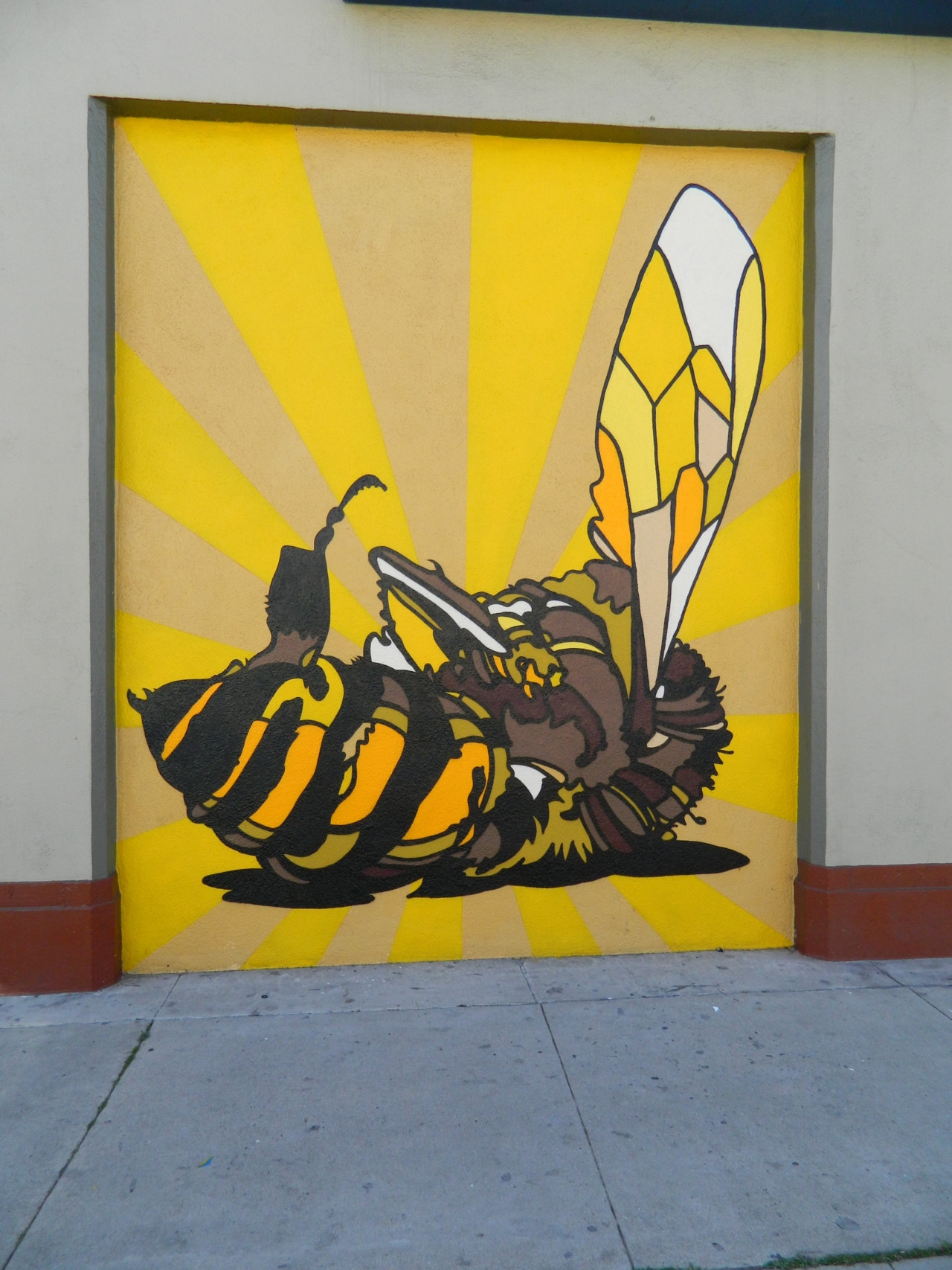 David Flores piece In Silverlake, Los Angeles.