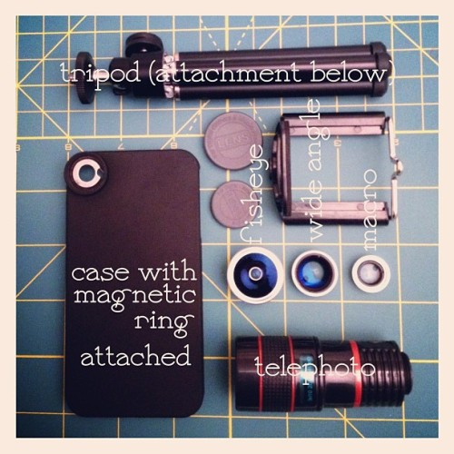 My iPhoneography Kit (made for one of my instagram friends)