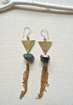 The Psychic City Earrings Inspired by YACHT: http://www.youtube.com/watch?v=MI6xNf4tMcs