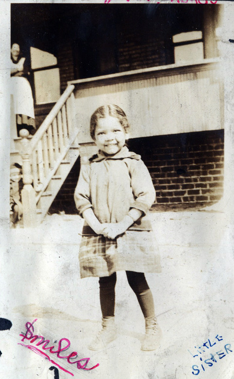 Little Sister Ohio, 1930's [Saulsberry Family Album] ©WaheedPhotoArchive, 2012