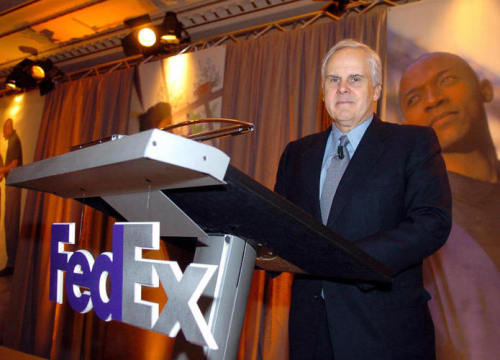 "(via Oil Scare Turns FedEx On To Energy Efficiency : NPR)  Smith believes the country's immense shale gas resource, along with shale oil deposits in places like Texas and North Dakota, could help make the U.S. energy independent for the first time since he founded FedEx. But, he says, only if these resources are coupled with conservation and a move to alternative fuels. ""You gotta do all of them. You can't sit on the left or the right of this issue,"" Smith says. ""You've got to be willing to maximize our resources, and you've got to be willing to conserve and transition to nonpetroleum-based transportation.""  We have to stop relying on dirty oil from places that constantly foster confrontation. We invest so much money on this resource that continually causes the death of our fellow human beings. All for what? Being able to drive faster cars? Brighter lights?"
