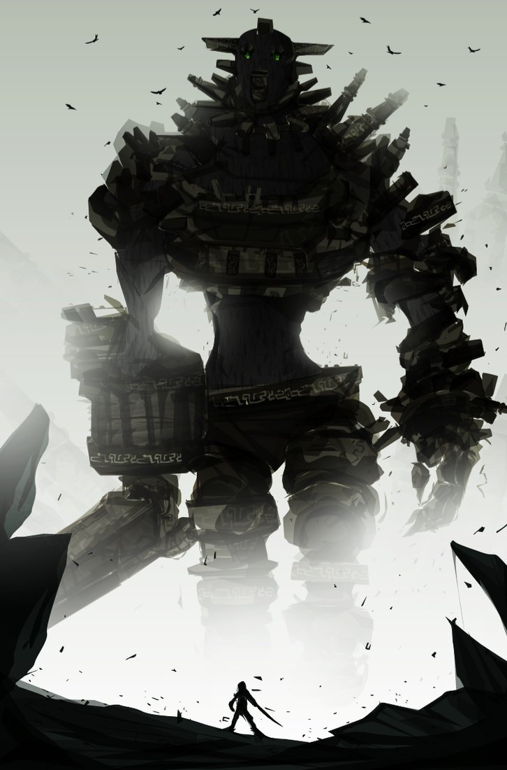 Shadow of the Colossus - by Justin Currie