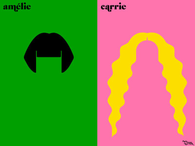 "Contemporary cultures… Paris vs. New York: Minimalist Illustrated Parallels of Culture. Macaroon vs. cupcake, Proust vs. Salinger, bobo vs. hipster, bordeaux vs. cosmo. For the past two years, graphic designer Vahram Muratyan, a self-described ""lover of Paris wandering through New York,"" has been chronicling the peculiarities and contradictions of the two cities through ""a friendly visual match"" of minimalist illustrated parallel portraits. Today, Muratyan joins the finest blog-turned-books with Paris versus New York: A Tally of Two Cities — an absolutely charming collection of these vibrant visual dichotomies and likenesses. (via 