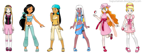 Pokemon Princesses 2by *Hapuriainen