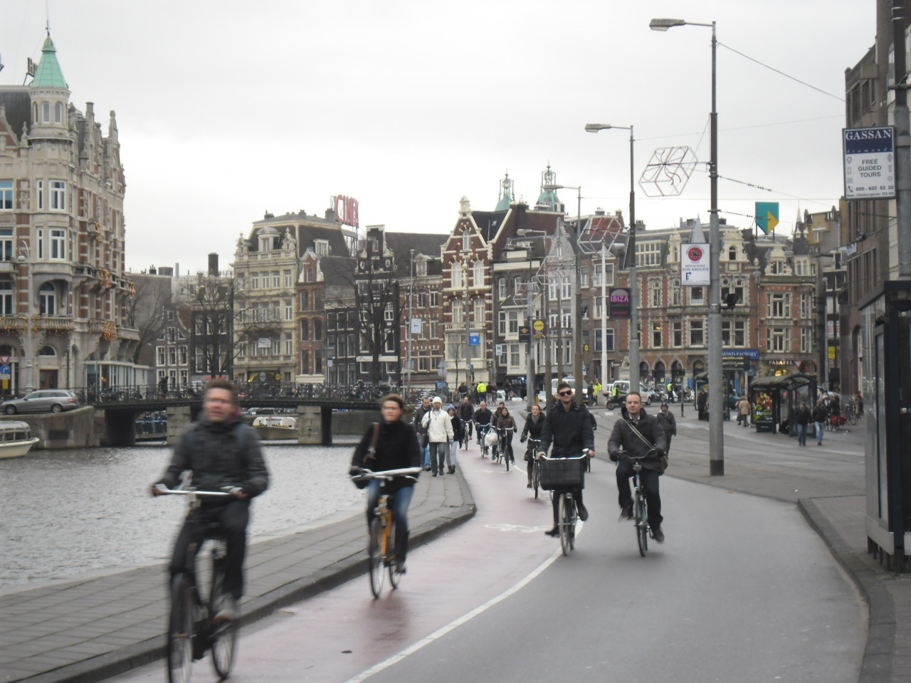 Amsterdam, Netherlands. Possibly the most Dutch photo I have ever taken in my life. 8 December 2011.