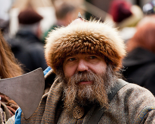 beardsftw:  Jorvik Viking Festival 2012 (by alh1)  why hello there