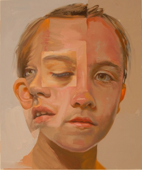 2headedsnake:  jeffhuntington.com Jeff Huntington,  Patch, 2011, oil on canvas, 24 x 20 inches   reminds me of cubism
