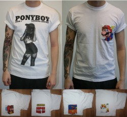ponyboylondon:  Competition, to win BOTH these tees, just re-blog this!You can also join in over at facebook, by sharing and tagging us in a post!http://www.facebook.com/PonyBoyLondonGood luck.