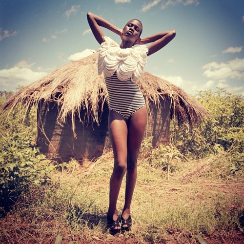 squizhamilton:  My Fashion Shoot in Africa Image3 (Uganda) (Taken with instagram)