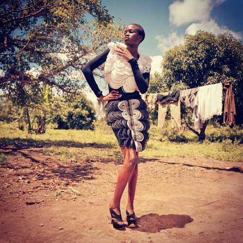 squizhamilton:  My Fashion Shoot in Africa Image6 (Uganda) (Taken with instagram)