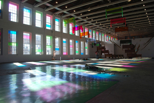 (via MASS MoCA - Sanford Biggers: The Cartographer's Conundrum)