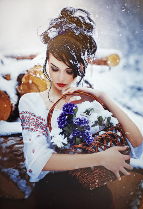 "pedalfar:  500px / Photo ""My snow spring"" by Alex Virusyan"