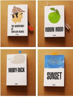 Book jackets + book mark by icoeye