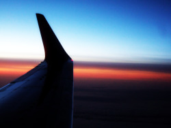Sunset on Air Texas, United States of America