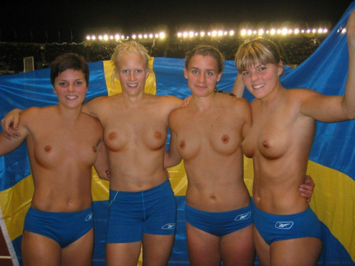 textmesomethingdirty:  (Scandinavian olympic team) Really?