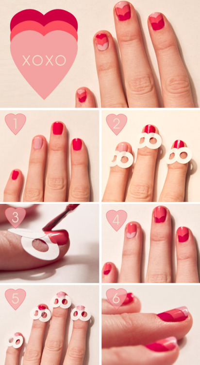 artpixie:  Nail Tutorial by The Beauty Department  POWER PUFF GIRLS