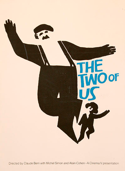 design : Saul Bass The Two of Us, 1967
