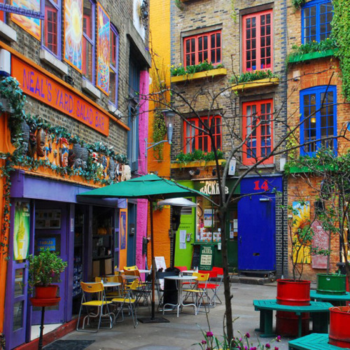 Neal's Yard, Covent Garden, London