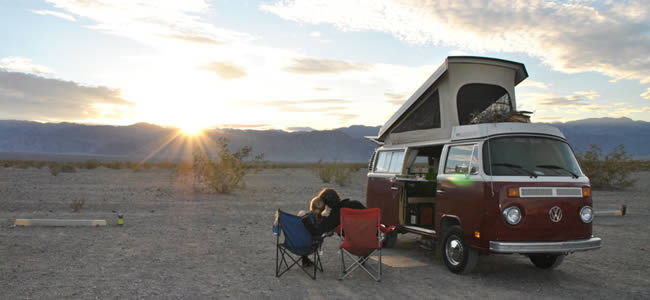Westy romantic: pop up the roof and relax