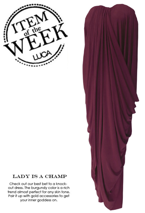 ITEM OF THE WEEK: DAUL DRESS (P3,100) Now available at www.shopluca.com