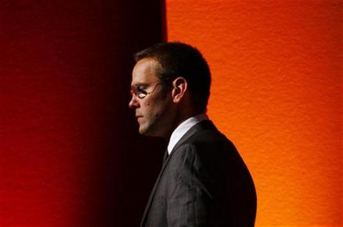 "reuters:  James Murdoch said on Tuesday he would step down as chairman at BSkyB, in a bid to protect the successful pay-TV group from being damaged by the phone hacking scandal that has hit part-owner News Corp. ""I am aware that my role as chairman could become a lightning rod for BSkyB and I believe that my resignation will help to ensure that there is no false conflation with events at a separate organization,"" he said, confirming the news previously reported by BSkyB's news channel. Murdoch is deputy chief operating officer at News Corp and was in charge of the British newspaper arm in the aftermath of the hacking scandal. READ MORE: James Murdoch confirms departure from BSkyB"