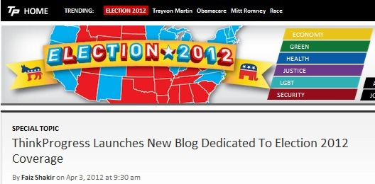 think-progress:  We just launched our 2012 election vertical! This is where you'll find analysis of where the candidates stand on policy, and why that matters. You can also follow our elections-focused twitter account @TPElections.  217 days.