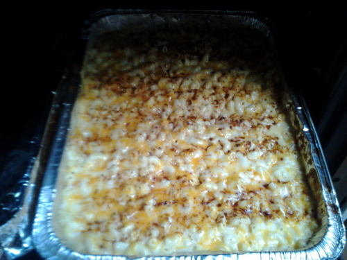 Mac & cheese that my sister requested for me to make for her b-day!